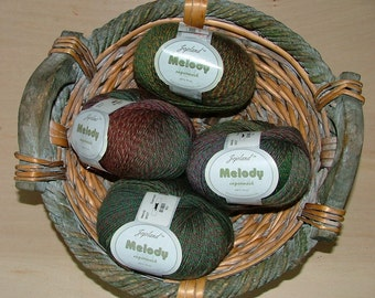 Jojoland Melody Superwash Wool Color No MS27 Crochet Knit