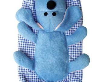 Blue Dog Bag Holder