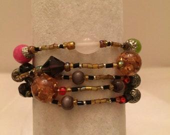 Multi Color Multi Strand Stretch Bracelet (one size fits all)/Beaded Bracelets