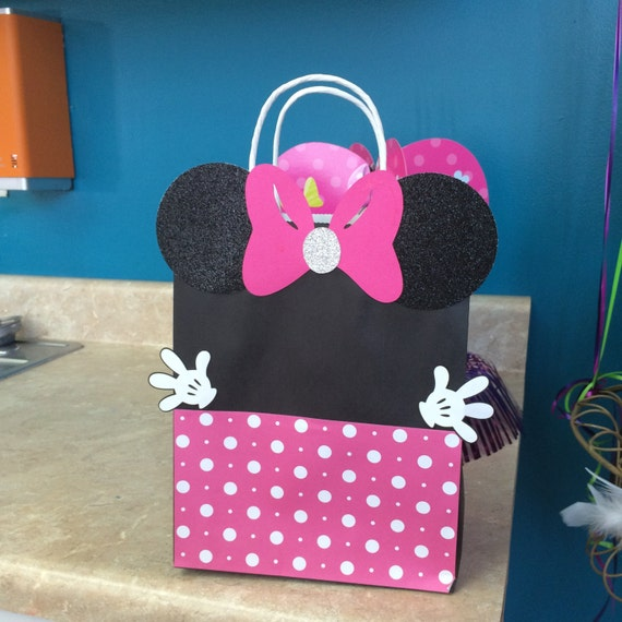 minnie mouse goodie bag