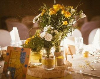 Pastoral flower pots
