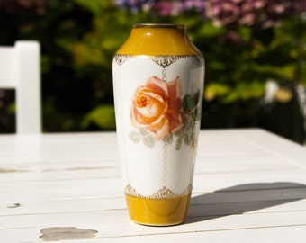 Romantic vintage vase