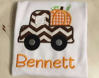 Pumpkin Patch Shirt // Pumpkin Monogrammed Shirt // Fall Personalized Shirt for Baby // Thanksgiving Shirt // Pumpkin Shirt for Toddler