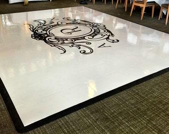 Wedding Dance Floor Decal