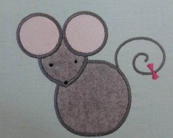 Mouse Applique