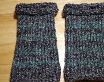 Tweed Wrist Warmers
