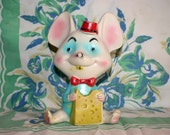 Alan Jay Clarolyte mouse squeak toy, 1950s-60s