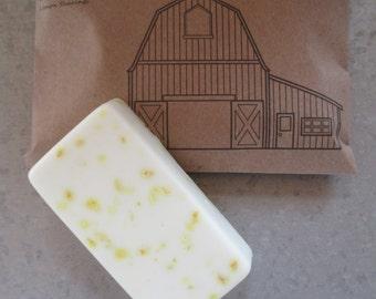 Lemon Bar soap, Country Wedding bridesmaid gift