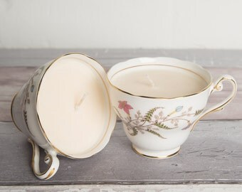 Soy Tea Cup Candle