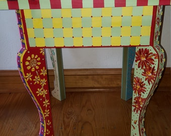 whimscial end table