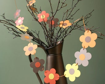 My 'I Love Autumn' Bunting, Fall Garland, Thanksgiving Garland, Fall Wedding, Autumn Wedding, Hanging Party Decoration