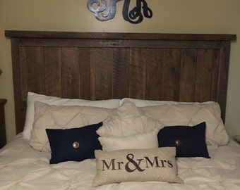 Reclaimed Barnwood King Headboard