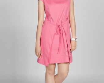 Apron Dress Blush Pink