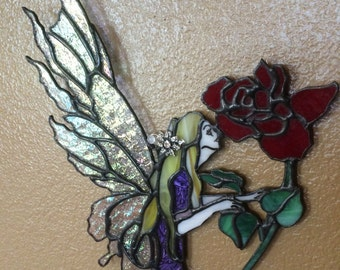 Stained Glass Fairy