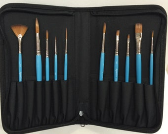 Brushes Set, Aquafine Water Colour Brush Collection by Daler Rowney
