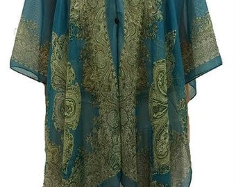 Gypsy Blouse (Teal)