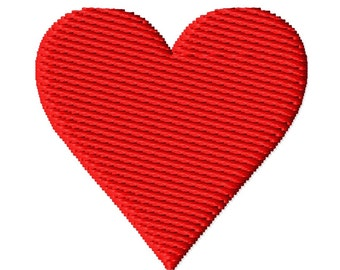 Mini Heart Solid Fill Embroidery Design 0.5x0.5 0.75x0.75 1x1 1.25x1.25 1.5x1.5 INSTANT DOWNLOAD