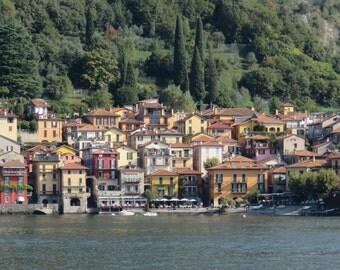 Travel photography - Italy - Lake Como - Italian village - landscape - Varenna