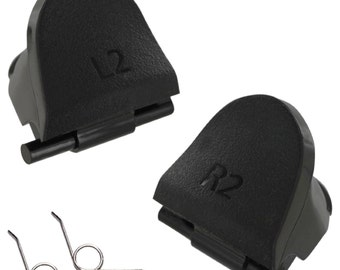 Replacement  L2 R2 trigger buttons & spring set for PS4 controller