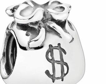 brand new pandora money bag charm