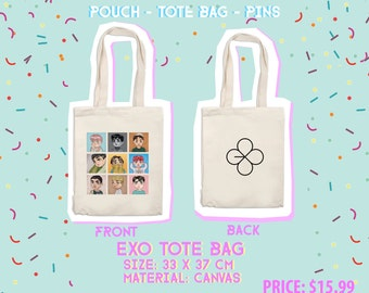 EXO Lucky One Tote Bag and Pouch