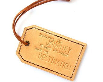 Leather Luggage Tag, Luggage Tag, Leather Tag, Adventure Tags, Personalized Tags, Traveler Tag, Travel Gift, Gift For Him, Gift For Her