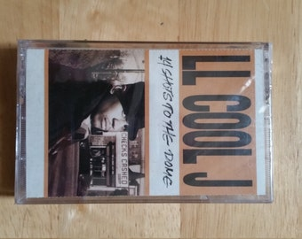 1993 L.L. Cool J 14 Shots to the Dome Casette Tape Sealed