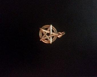Sterling Silver Pentagram