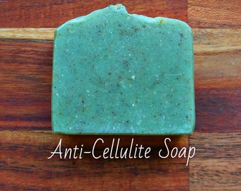 SOAP - Anti-Cellulite Soap -Slimming Soap, Natural soap, Organic soap, Vegan soap, Jewish soap, Artisan soap, Handmade soap