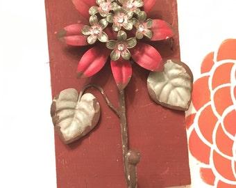 Decorative purse hook