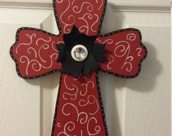 Mini cross door hangers