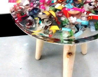 Resin stoll/sidetable