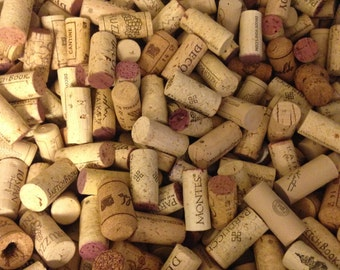 WINE CORKS 200 Used All Natural Wine Corks, NO Synthetic or Champagne Corks