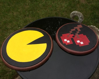 Hand Painted Pacman Wall Decoration