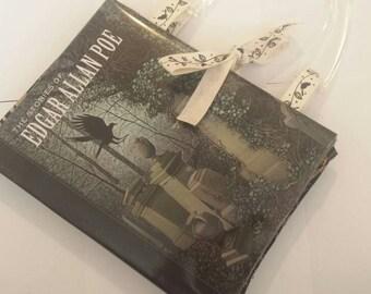 Handmade Edgar Allen Poe Bookbag