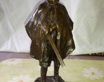 antique H.Miller bronce statue no.2