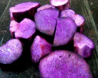 3-Organic Purple Yam Plants