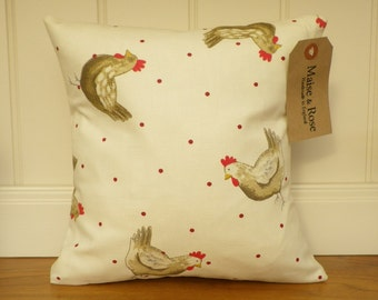 Henrietta 12 x 12 inch Cushion Cover with Insert Pad
