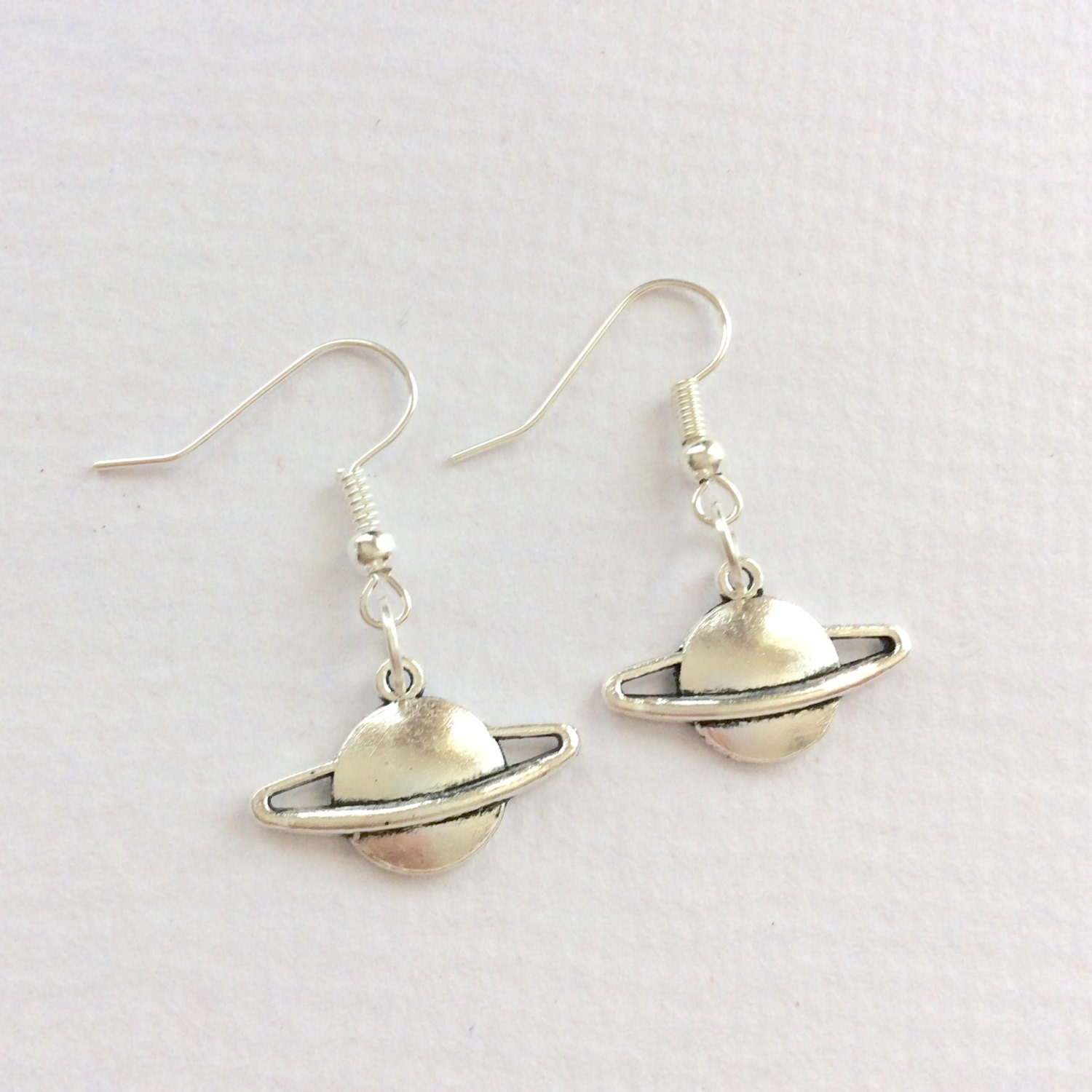 planet saturn earring - photo #11