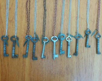 You Have the Keys to Unlock - Necklace