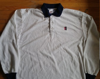 Nike long sleeved polo shirt