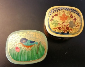 BUY 1, GET 1 FREE! Hand painted mini treasure boxes.*For jewelry,pills,gifts,etc.