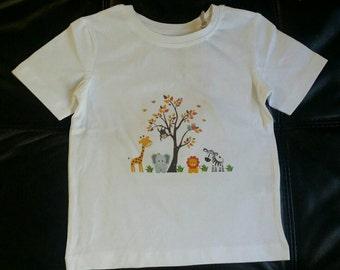 Kids Organic Jungle T-Shirt