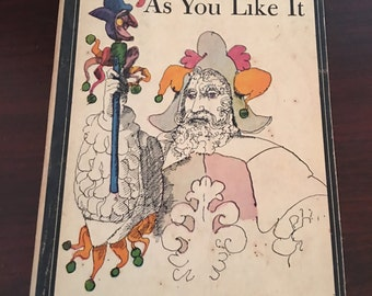 "Shakespeare's 1963 ""As You Like It"" book"
