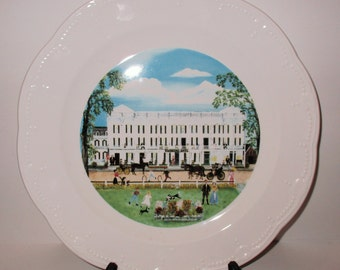 will moses the cambridge hotel syracuse china limited edition plate