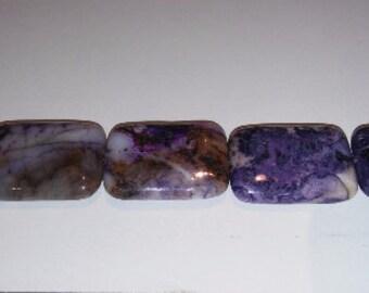 Purple agate beads pendant beads purple pendant 22x30 pendant rectangle pendant rectangle beads