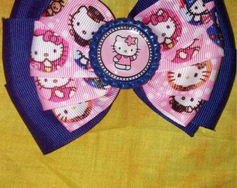 Hello kitty many face bow