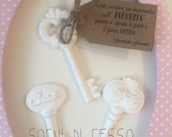 Fragrant chalks keys