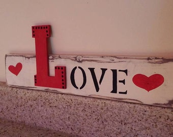 LOVE Home Decor Sign