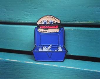 Good Burger Hamburger Enamel Pin